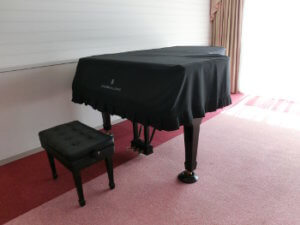 「あんのんホール」のスタインウェイピアノ