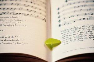 ピアノの楽譜