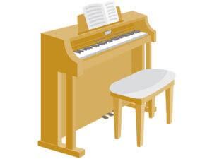 電子ピアノイラスト